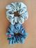 イルカデザイン「IUCNと藍染めのコラボ」一点ずつ手作り「生葉染めのシュシュ」7月26日に販売!【河口湖ステラシアター会場にて】