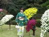 「秋の園遊会」にて天皇皇后両陛下。皇族方と沢山お話させて頂きました。穏やかで和やかな空気の中、赤坂御苑にて。
